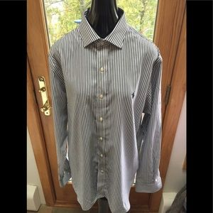 Polo RALPH LAUREN SLIM FIT PIN STRIPE 17 SHIRT